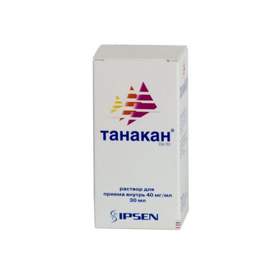 Танакан 30мл раствор для приема внутрь, фото №1