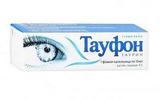 Тауфон 4% 10мл капли глазные