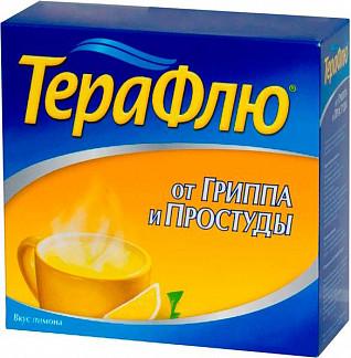 Терафлю от гриппа и простуды 22,1г n14 порошок д/приготовления раствора для приема внутрь [лимонный]