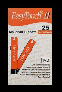 Изи тач тест-полоски д/определия мочевой кислоты n25