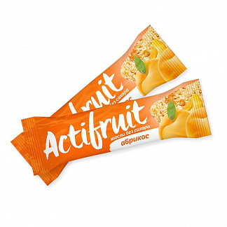 Актифрут батончик мюсли без сахара абрикос 30г