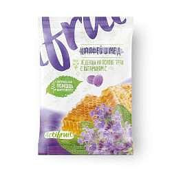 Актифрут леденцовая карамель с витамином с со вкусом шалфея с медом 60г