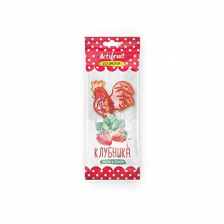 Актифрут леденцовая карамель с витамином с со вкусом клубники 17г